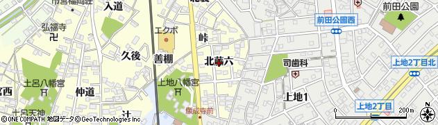 愛知県岡崎市福岡町(北藤六)周辺の地図