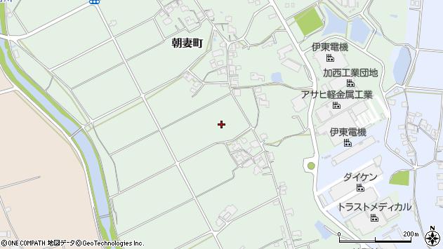 〒679-0105 兵庫県加西市朝妻町の地図