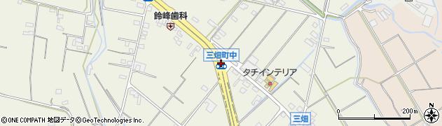三畑町中周辺の地図