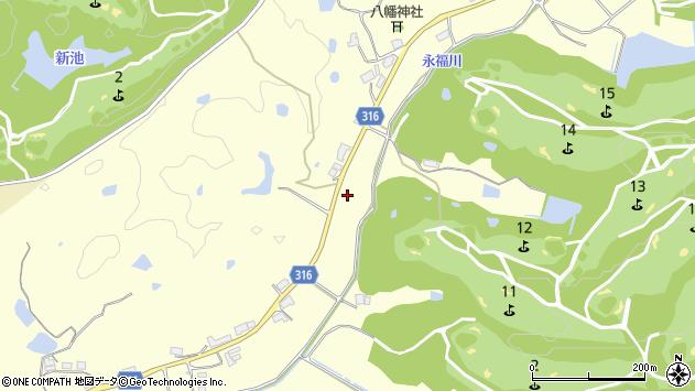 〒673-1313 兵庫県加東市永福の地図