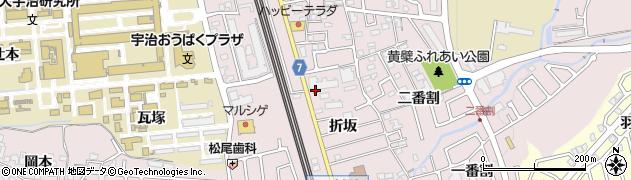 東宇治派出所周辺の地図