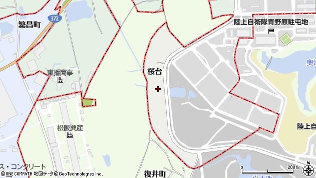 〒679-0223 兵庫県加東市桜台の地図