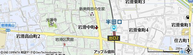 ラミティエ周辺の地図