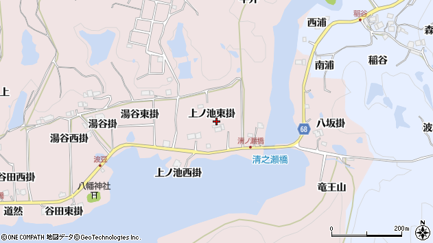 〒669-1221 兵庫県宝塚市波豆の地図