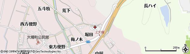 愛知県岡崎市大幡町(堀田)周辺の地図