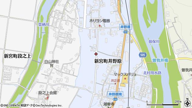 〒679-4315 兵庫県たつの市新宮町井野原の地図