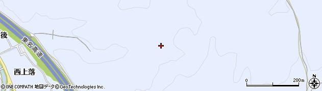 愛知県岡崎市池金町中大入周辺の地図