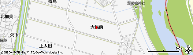 愛知県安城市小川町(大帳前)周辺の地図