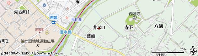 愛知県安城市東端町(井ノ口)周辺の地図