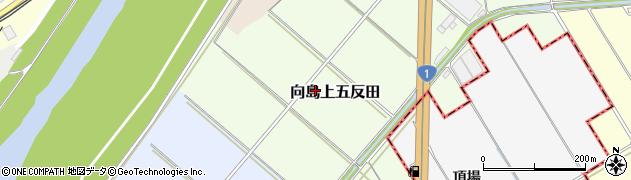 京都府京都市伏見区向島上五反田周辺の地図