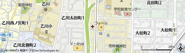 愛知県半田市小神町周辺の地図