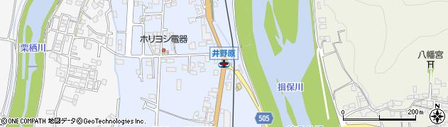 井野原周辺の地図