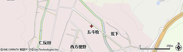 愛知県岡崎市大幡町(五斗牧)周辺の地図
