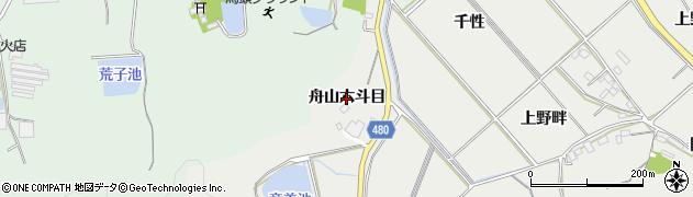 愛知県岡崎市竜泉寺町(舟山六斗目)周辺の地図