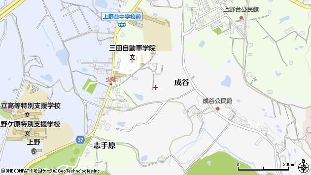 〒669-1517 兵庫県三田市成谷の地図