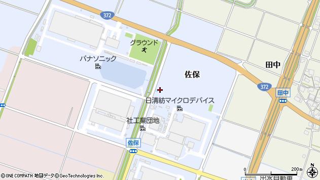 〒673-1447 兵庫県加東市佐保の地図