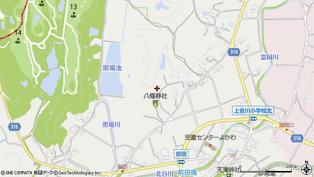 〒673-1103 兵庫県三木市吉川町前田の地図