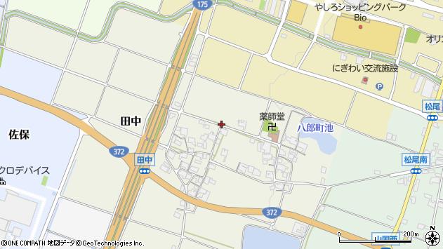 〒673-1441 兵庫県加東市田中の地図