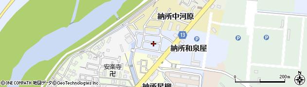 京都府京都市伏見区納所和泉屋周辺の地図