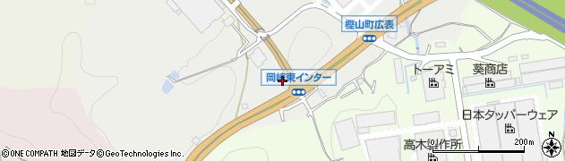 愛知県岡崎市樫山町(広表)周辺の地図
