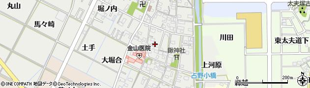 愛知県岡崎市野畑町(南郷中)周辺の地図