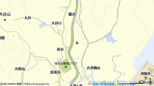 〒666-0233 兵庫県川辺郡猪名川町紫合の地図
