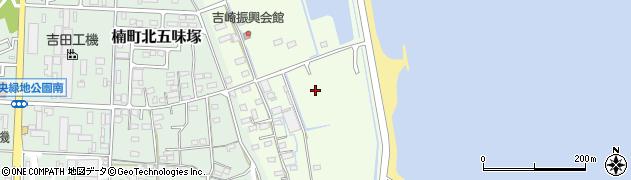 三重県四日市市楠町吉崎周辺の地図
