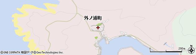 島根県浜田市外ノ浦町周辺の地図