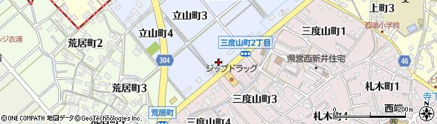 チャンコやぐら西端店周辺の地図