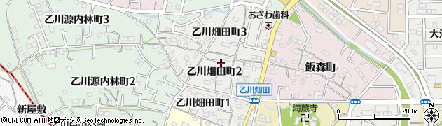 愛知県半田市乙川畑田町周辺の地図