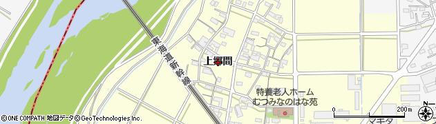 愛知県岡崎市合歓木町(上郷間)周辺の地図