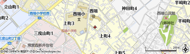 愛知県碧南市上町周辺の地図