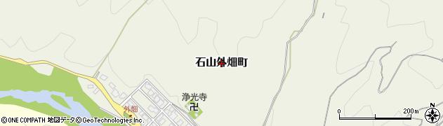滋賀県大津市石山外畑町周辺の地図