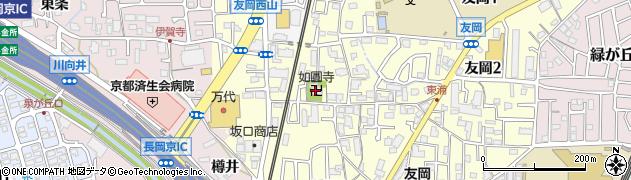 如円寺周辺の地図