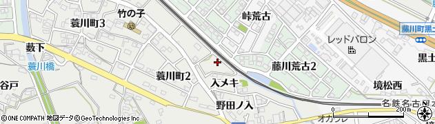 愛知県岡崎市蓑川町(小石亀)周辺の地図