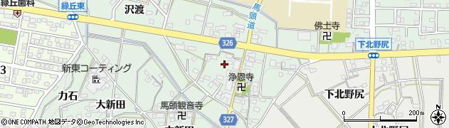 愛知県岡崎市美合町(本郷)周辺の地図
