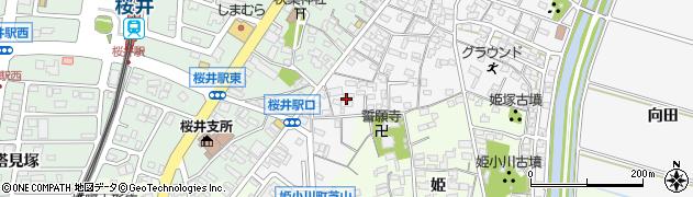 愛知県安城市東町(荒井)周辺の地図