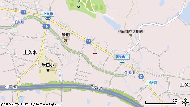 〒673-1414 兵庫県加東市上久米の地図