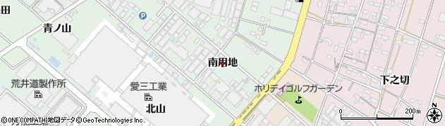 愛知県安城市東端町(南用地)周辺の地図