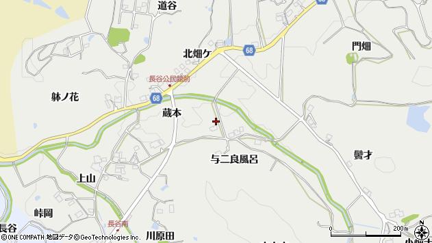 〒669-1204 兵庫県宝塚市長谷の地図