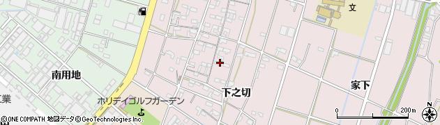 愛知県安城市和泉町周辺の地図