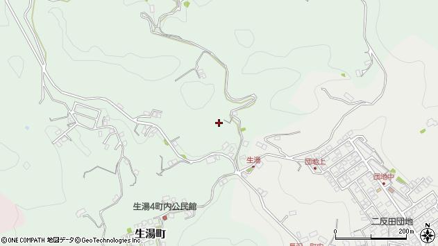 〒697-0002 島根県浜田市生湯町の地図