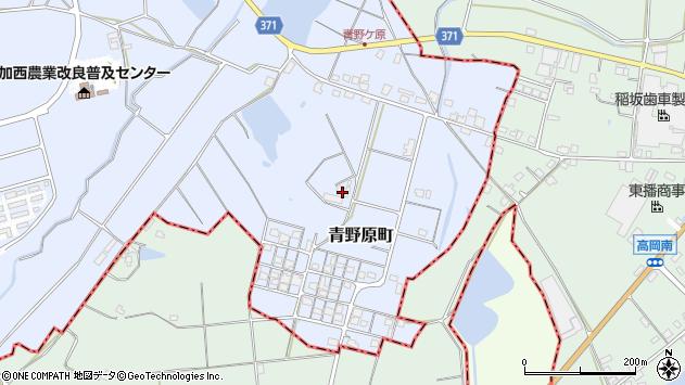 〒679-0102 兵庫県加西市青野原町の地図