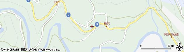 長月寺周辺の地図