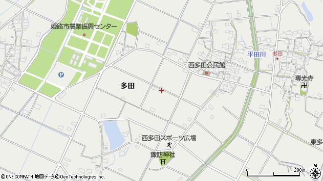 〒679-2111 兵庫県姫路市山田町多田の地図