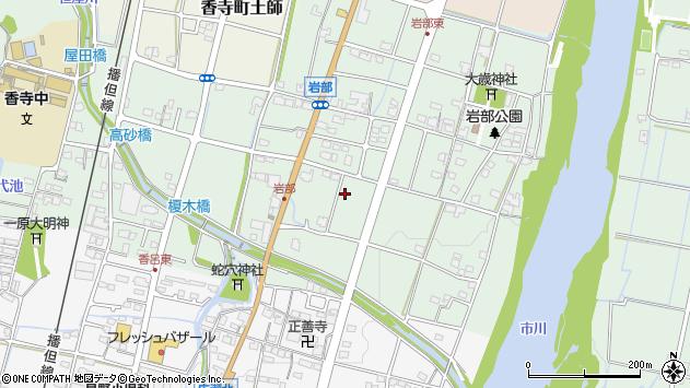 〒679-2141 兵庫県姫路市香寺町岩部の地図