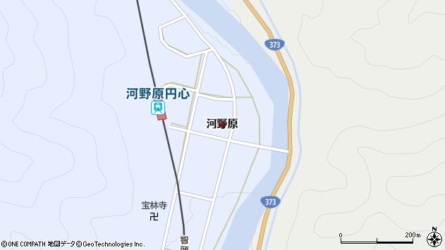 〒678-1278 兵庫県赤穂郡上郡町河野原の地図