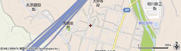 静岡県藤枝市岡部町村良周辺の地図