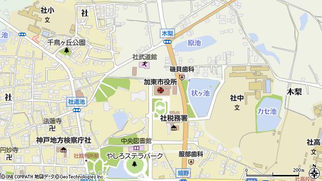 〒673-1400 兵庫県加東市(以下に掲載がない場合)の地図