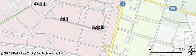 愛知県安城市和泉町(高曽根)周辺の地図